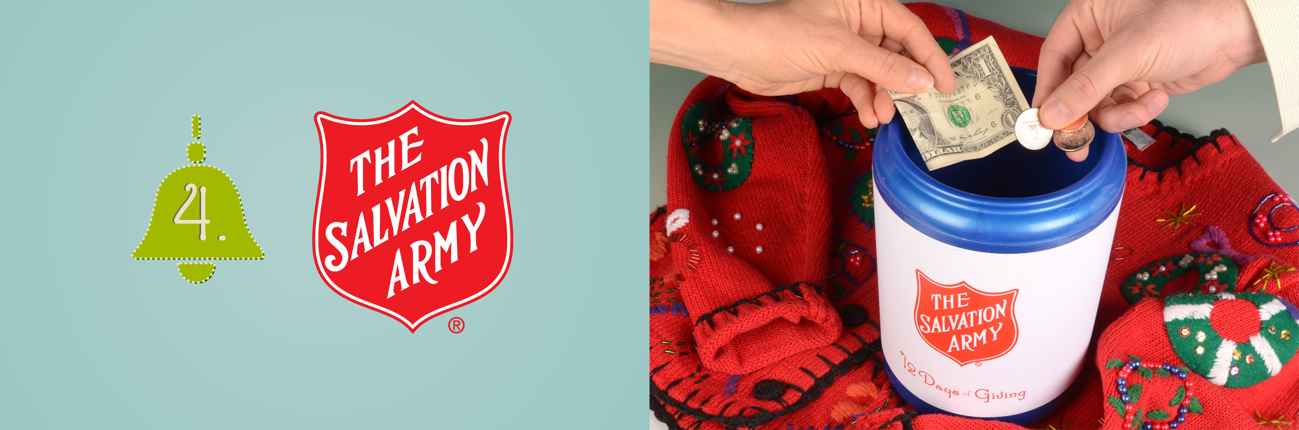 Donate to Salvation Army