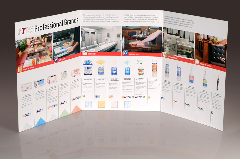 Pro Brands Food Service Brochure interior