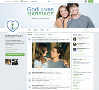 God Loves Marriage Twitter
